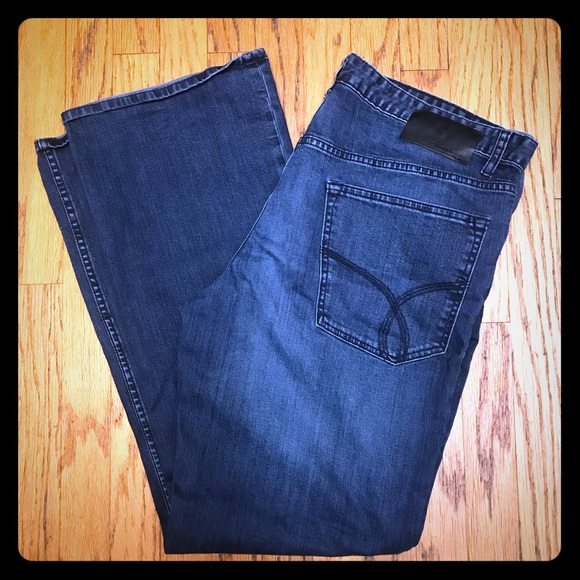 32fab6bb30eeb ... Bootcut Jeans at Amazon Women s Jeans store. Men s Calvin Klein Modern  Boot Jeans